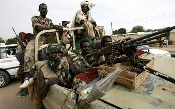 Combatants of the Sudan Liberation Movement (File photo: AFP)