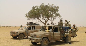 Darfur rebel combatants (File photo)