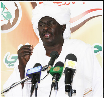 Abood Jabir, Secretary General of the Council for National Unity Parties (File photo: SUNA)