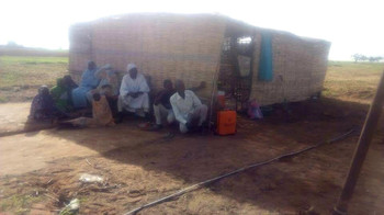 Cholera isolation ward in El Salam camp in South Darfur, July 2017 (RD source)