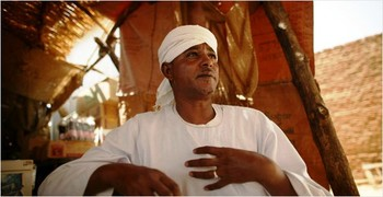 Musa Hilal in Saraf Omra, North Darfur (file photo)