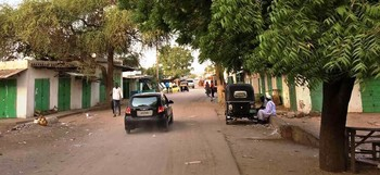 A car without license plates in Nyala, South Darfur (File photo)