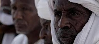 Darfur native administration leaders (File photo)