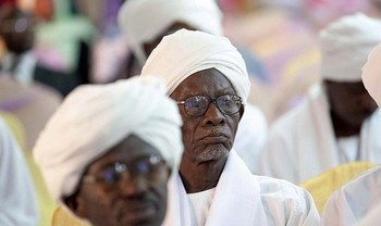 Darfur tribal leaders (file photo)
