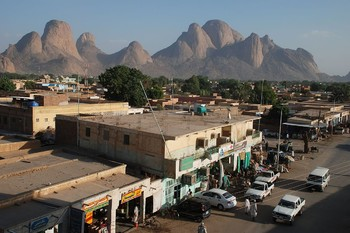 Kassala town centre (File photo)