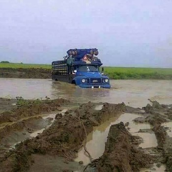 The Bandigyo-Simsim road in El Gedaref became inaccessible on 20 September 2017 because of the flash floods and rainfall (RD)