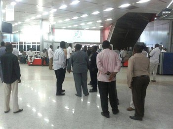 Khartoum Airport (file photo)