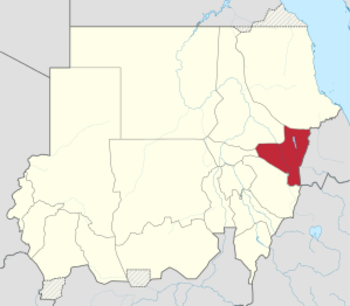 Kassala state. Cases of the chikungunya virus have mostly been recorded in the state capital, western El Gash and eastern El Gash, according to the national health ministry (Wikipedia.org)
