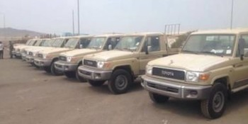 Unregistered vehicles seized in Darfur during a previous illegal vehicles and arms collection campaign (file photo)