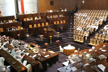 The Sudanese parliament (file photo)