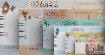 Freshly printed Sudanese banknotes (file photo)