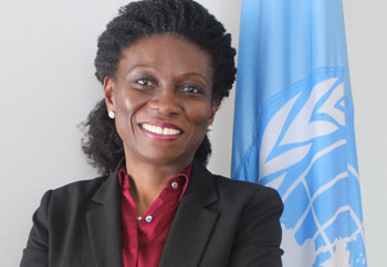 Anita Kokui Gbeho of Ghana, newly appointed Deputy Joint Special Representative for the African Union-United Nations Hybrid Operation in Darfur (UN)