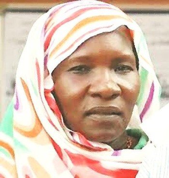 Jalila Khamis, a Sudanese civil society activist (file photo)
