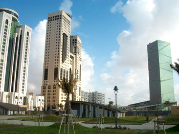The central business district of Tripoli, capital of Libya (File photo: Abdul-Jawad Elhusuni Wikimedia Commons)