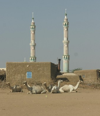 Minarets of a mosque in Kassala state (European Commission)