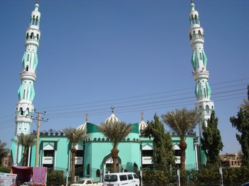 The Sayida Sanhouri Mosque in Khartoum (File photo)