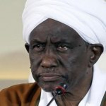 Ali Osman Taha, leading member of the now dissolved National Congress Party, and former vice-president of Sudan between 1998-2013 (File photo)