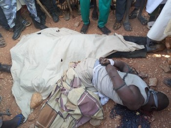 One of the six killed people in El Geneina locality, West Darfur, on March 13 (RD)