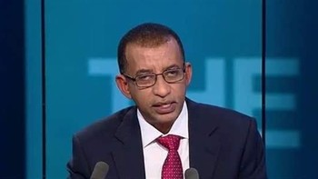 Omar El Degeir, head of the opposition Sudanese Congress Party (File photo)