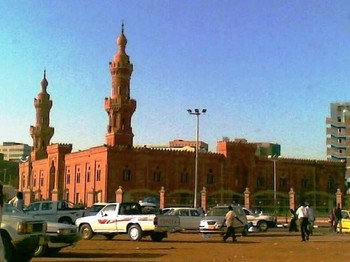 The Grand Mosque in central Khartoum (File photo)
