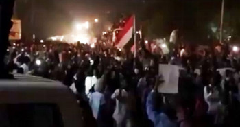 Darfuri protesters arrive in Khartoum on May 30 to join the sit-in in front of the Command of the Sudanese army in the city (RD file photo)