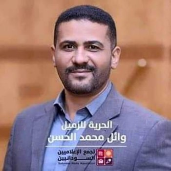 Journalist Wael El Hasan, who was detained and then released last week
