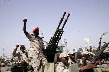 RSF troops on the streets of Khartoum (File photo: SUNA)