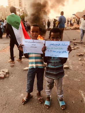 Condemning the killing of protesters in El Obeid and the rest of Sudan, Imtidad Nasir, Khartoum, July 29, 2019 (RD)