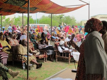 Awareness-raising session on gender-based violence and sexual violence in conflict in Darfur (Unamid)