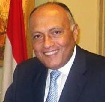 Egyptian Foreign Minister Sameh Shoukry (Picture: Egypt Foreign Ministry)