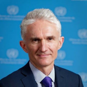 United Nations Under-Secretary-General for Humanitarian Affairs and Emergency Relief Coordinator Mark Lowcock (Social media)