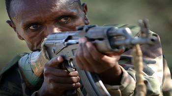 Ethiopian 'shifta' gunman (File photo)