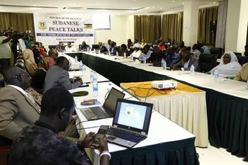 JUBA Peace talks the third round (Social media)