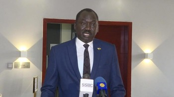 South Sudanese mediator Dhieu Mathok (Social media)