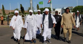 the recent visit of El Mahdi to Darfur (Social media)