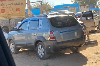 Unregistered 'Boko Haram' vehicles abound in the North Darfur capital El Fasher (File photo: RD)