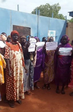Nuba women in Yida camp call for the resumption of aid, July 14 (RD)