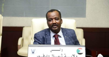North Darfur governor Mohamed Arabi (Social media)