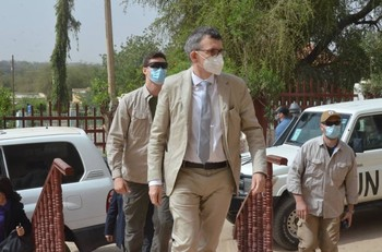 UNITAMS head Volker Perthes visits Darfur for the first time (SUNA)