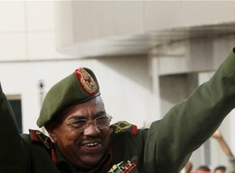 Sudan's President Omar Al Bashir in uniform as Field Marshal (File photo)