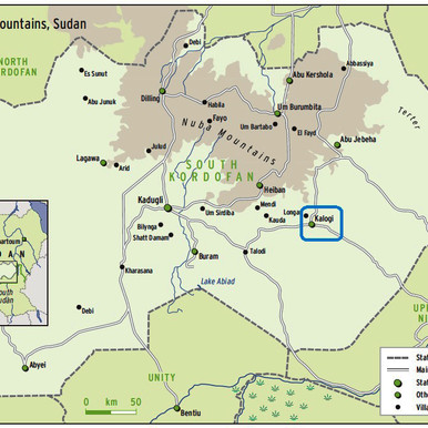 Sit-in against toxic mining in Sudan's South Kordofan