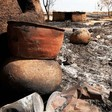 A destroyed village in Darfur (File photo: RD)