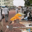 Street vendors in Omdurman (RD)