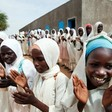 Schoolgirls in Darfur (File photo)