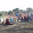 Displaced preparing for the night in Jimam, Kurmuk locality, Blue Nile state (Radio Tamazuj)