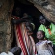 Nuba villagers shelter in crevasses, caves and beneath boulders in South Kordofan (Aljazeera)