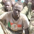 Combatants captured by govt forces after Nakhara battle, which was fought in late April 2015 in South Darfur between government forces and the JEM (File photo)
