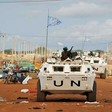 UN peacekeepers patrol the streets of Abyei town. (File Photo: UN)