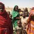 Displaced women and children in Darfur (File photo)