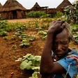 A woman farmer in Darfur (file photo)